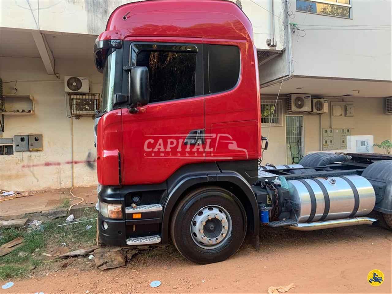CAMINHAO SCANIA SCANIA 420 Cavalo Mecânico Truck 6x2 Capital Caminhões - Metalesp e Recrusul  BRASILIA DISTRITO FEDERAL DF