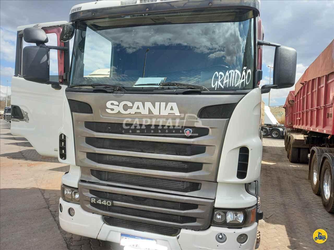 CAMINHAO SCANIA SCANIA 440 Cavalo Mecânico Traçado 6x4 Capital Caminhões - Metalesp e Recrusul  BRASILIA DISTRITO FEDERAL DF