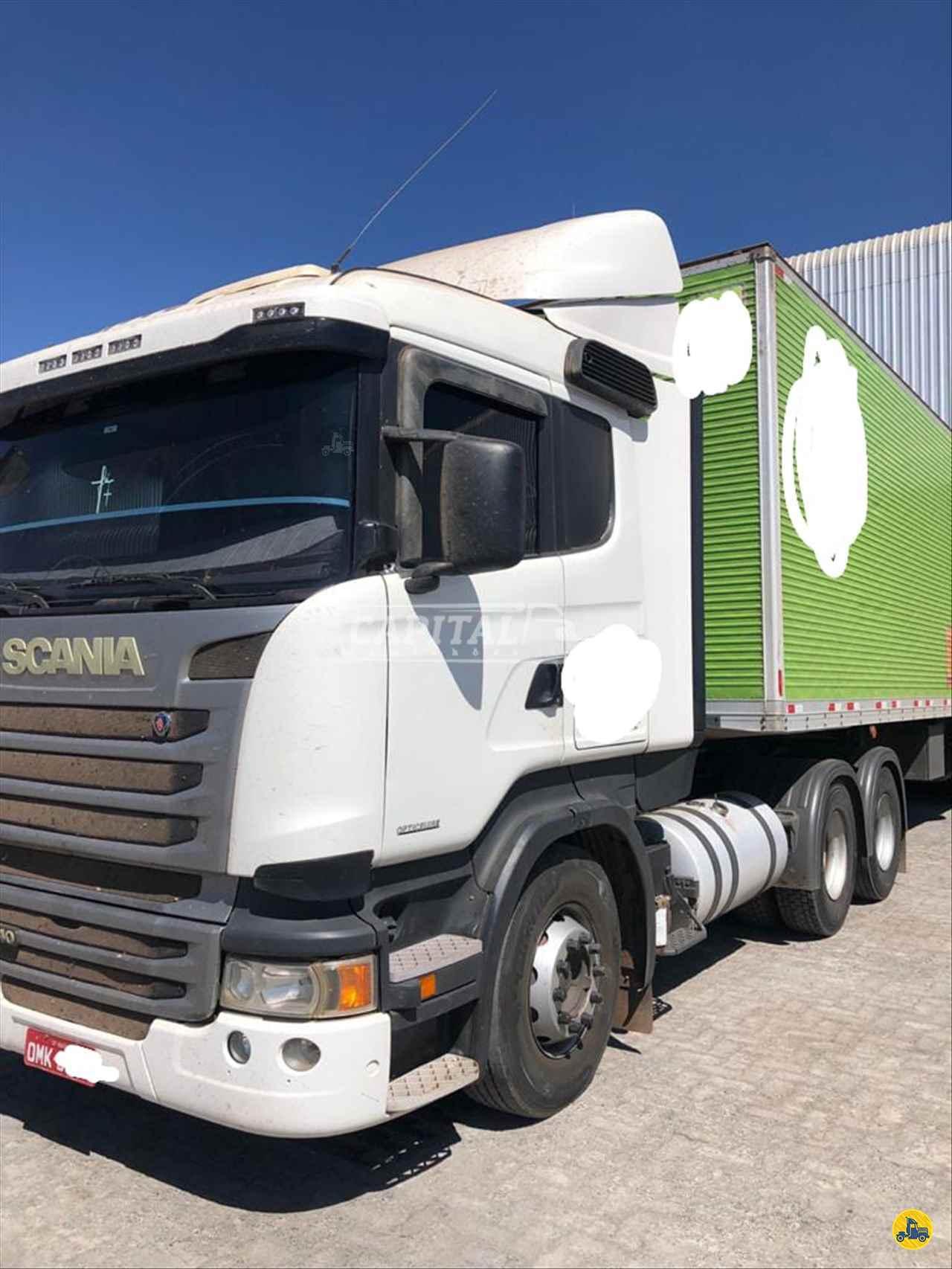 CAMINHAO SCANIA SCANIA 440 Cavalo Mecânico Truck 6x2 Capital Caminhões - Metalesp e Recrusul  BRASILIA DISTRITO FEDERAL DF