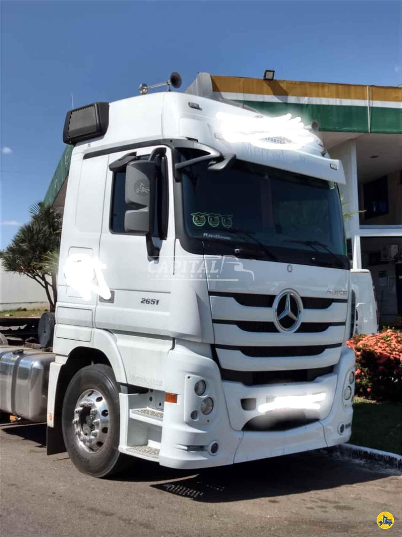 CAMINHAO MERCEDES-BENZ MB 2651 Cavalo Mecânico Traçado 6x4 Capital Caminhões - Metalesp e Recrusul  BRASILIA DISTRITO FEDERAL DF