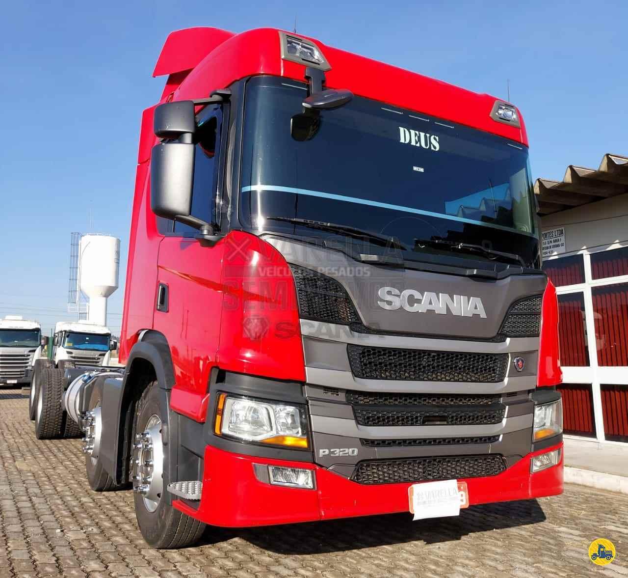 CAMINHAO SCANIA SCANIA P320 Cavalo Mecânico BiTruck 8x2 Varella Seminovos Scania APARECIDA DE GOIANIA GOIAS GO