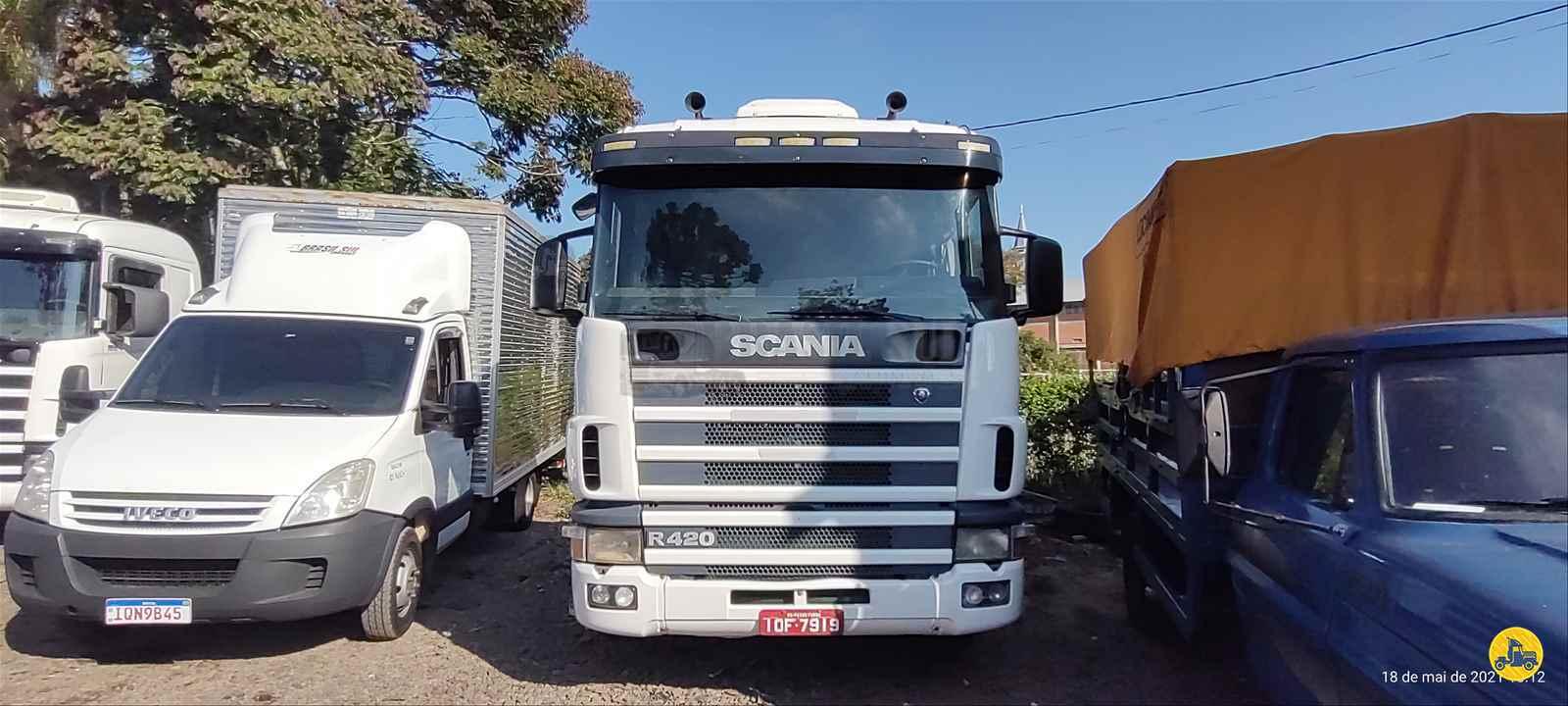 CAMINHAO SCANIA SCANIA 124 420 Cavalo Mecânico Toco 4x2 Brasil Sul Caminhões PORTAO RIO GRANDE DO SUL RS
