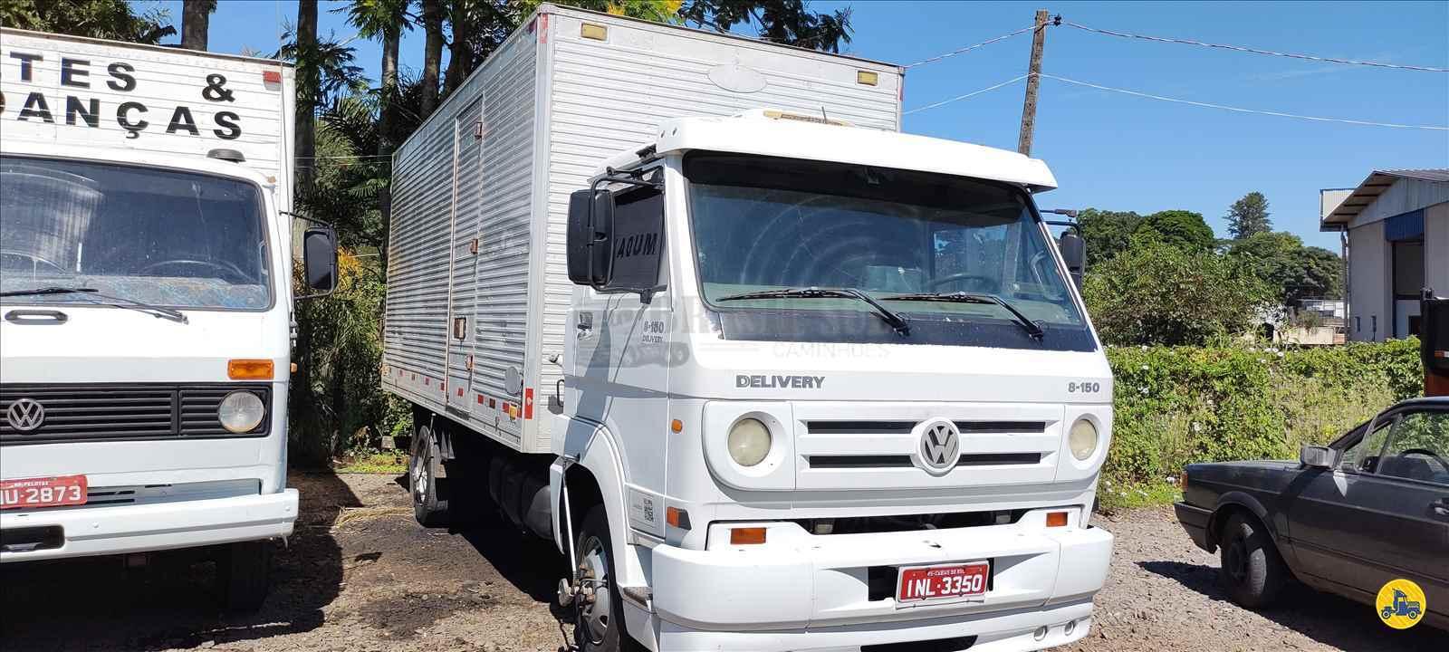 CAMINHAO VOLKSWAGEN VW 8150 Baú Furgão 3/4 4x2 Brasil Sul Caminhões PORTAO RIO GRANDE DO SUL RS
