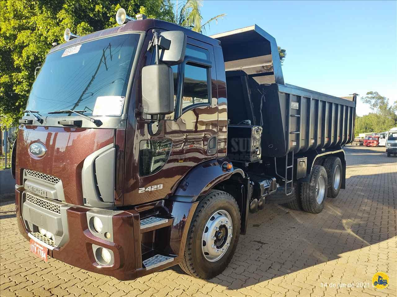 CAMINHAO FORD CARGO 2429 Caçamba Basculante Truck 6x2 Brasil Sul Caminhões PORTAO RIO GRANDE DO SUL RS