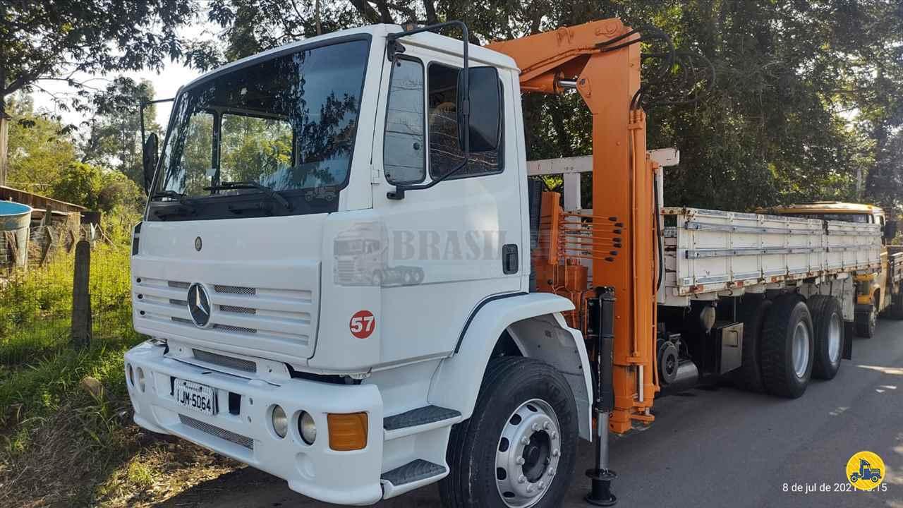 CAMINHAO MERCEDES-BENZ MB 1720 Guincho Munck Truck 6x2 Brasil Sul Caminhões PORTAO RIO GRANDE DO SUL RS