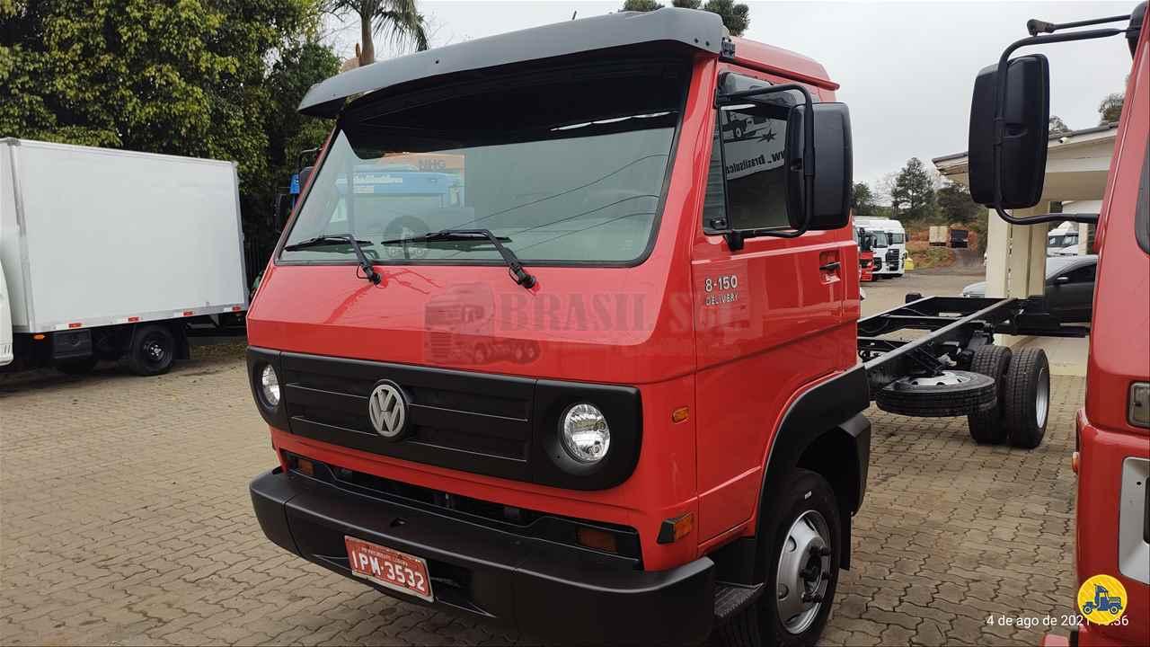 CAMINHAO VOLKSWAGEN VW 8150 Chassis 3/4 4x2 Brasil Sul Caminhões PORTAO RIO GRANDE DO SUL RS