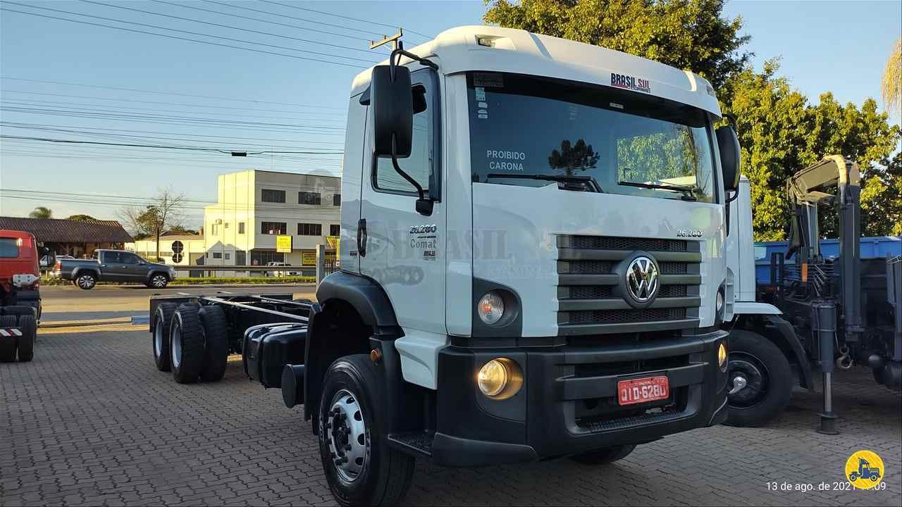CAMINHAO VOLKSWAGEN VW 26280 Chassis Traçado 6x4 Brasil Sul Caminhões PORTAO RIO GRANDE DO SUL RS