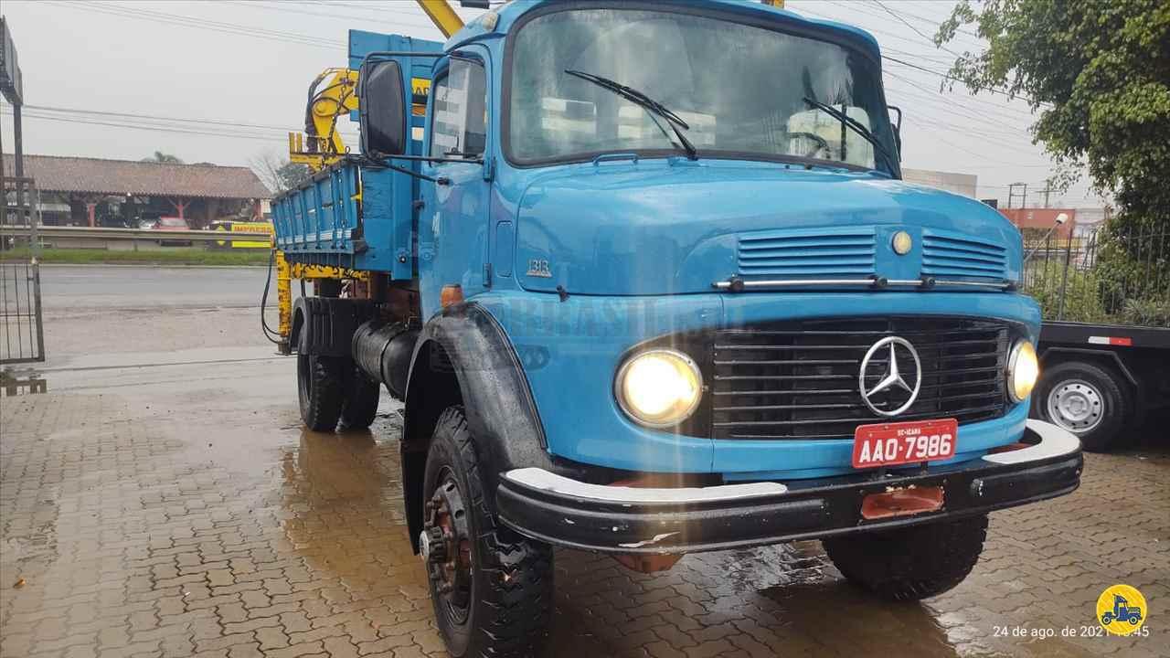 CAMINHAO MERCEDES-BENZ MB 1313 Guincho Munck Toco 4x4 Brasil Sul Caminhões PORTAO RIO GRANDE DO SUL RS
