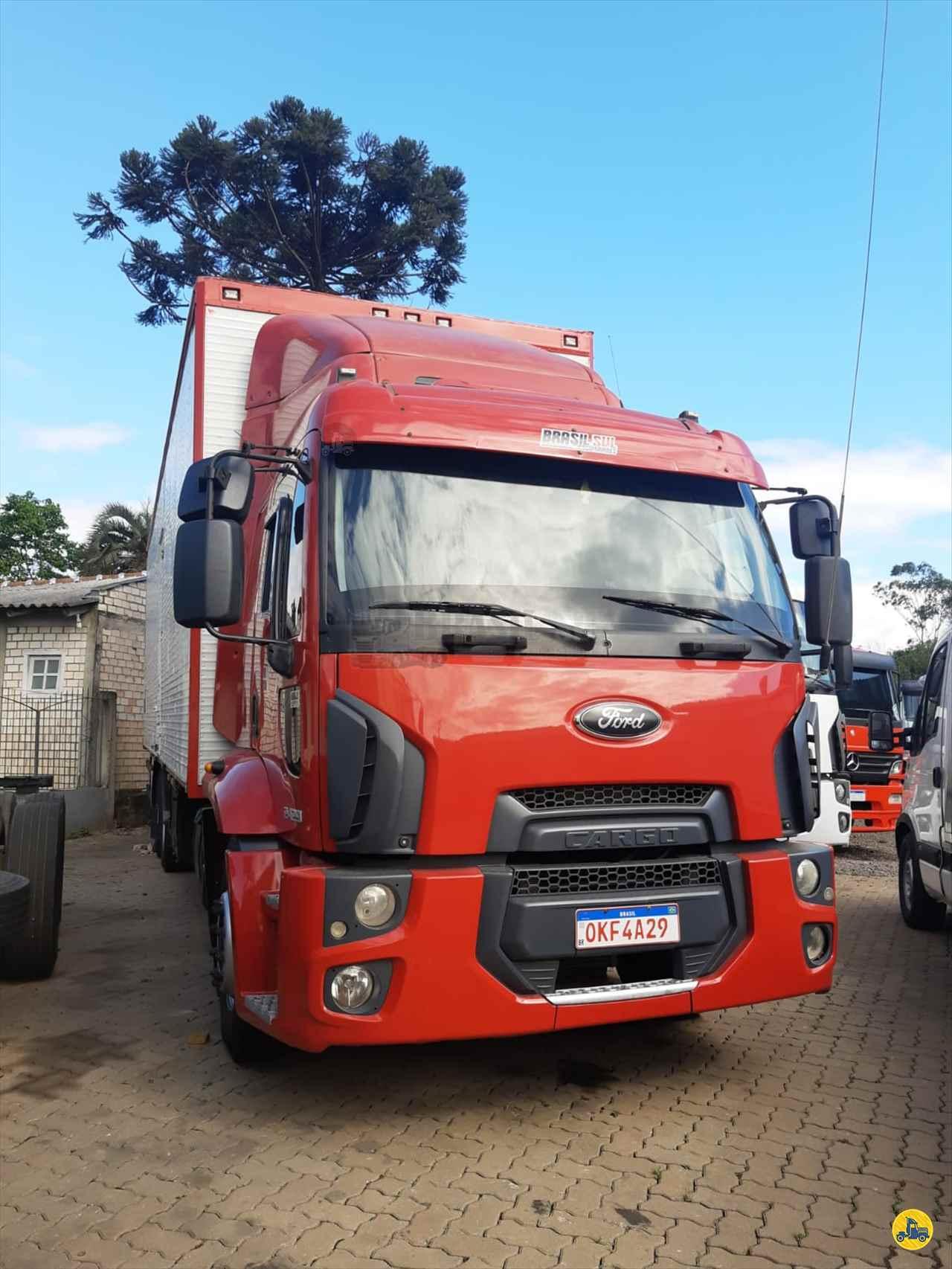 CAMINHAO FORD CARGO 2429 Baú Furgão Truck 6x2 Brasil Sul Caminhões PORTAO RIO GRANDE DO SUL RS