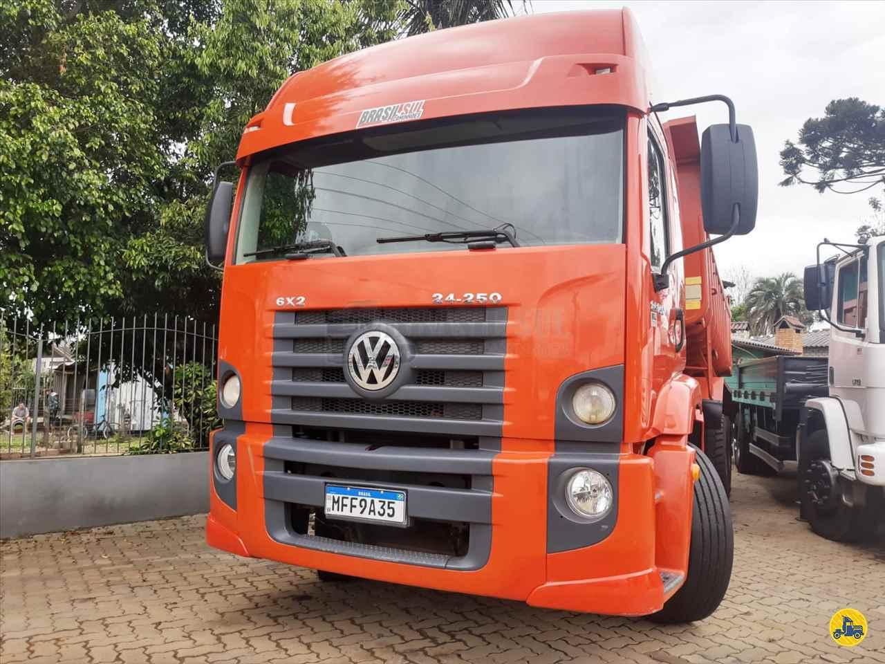 CAMINHAO VOLKSWAGEN VW 24250 Caçamba Basculante Truck 6x2 Brasil Sul Caminhões PORTAO RIO GRANDE DO SUL RS