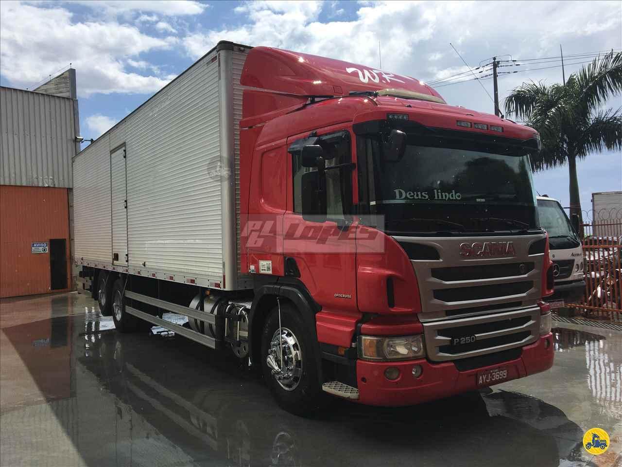 CAMINHAO SCANIA SCANIA P250 Baú Furgão Truck 6x2 P.B. Lopes - Scania MARINGA PARANÁ PR