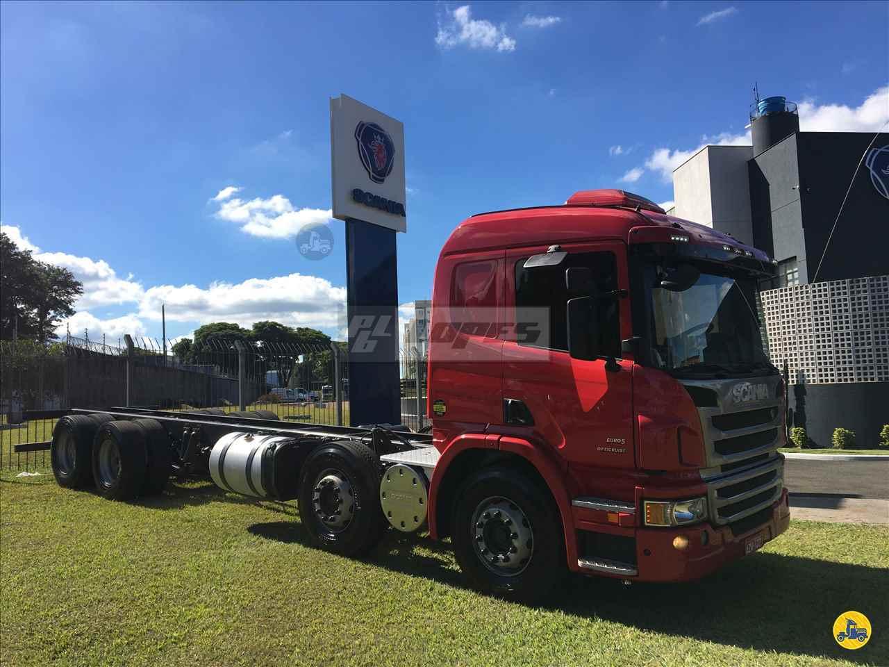 CAMINHAO SCANIA SCANIA P310 Chassis Truck 6x2 P.B. Lopes - Scania MARINGA PARANÁ PR