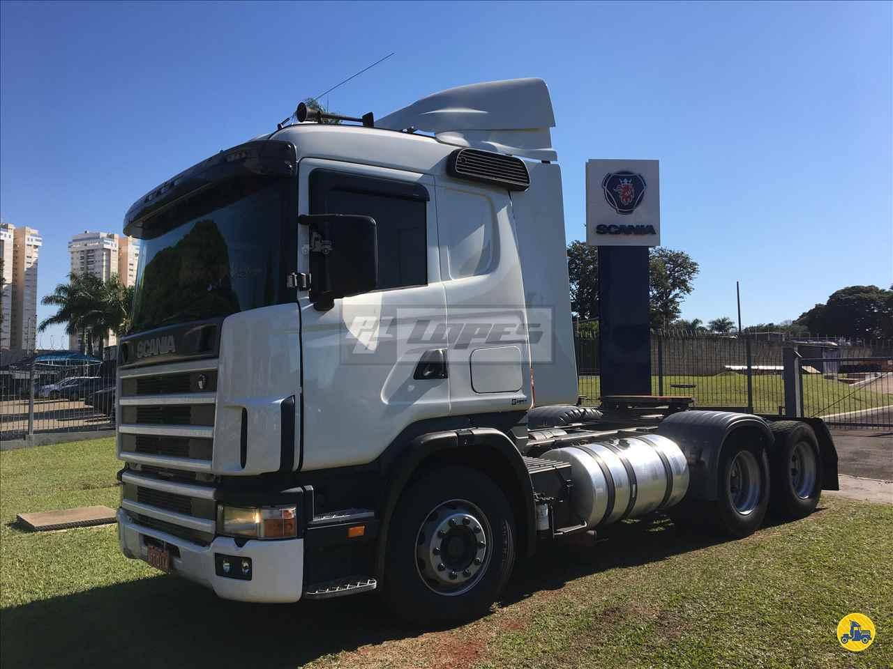 CAMINHAO SCANIA SCANIA 114 380 Cavalo Mecânico Truck 6x2 P.B. Lopes - Scania LONDRINA PARANÁ PR