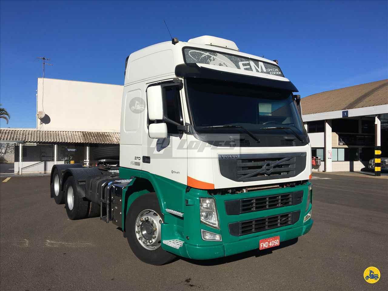 CAMINHAO VOLVO VOLVO FM 370 Cavalo Mecânico Truck 6x2 P.B. Lopes - Scania LONDRINA PARANÁ PR