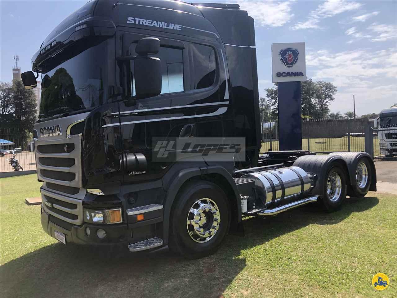 CAMINHAO SCANIA SCANIA 480 Cavalo Mecânico Truck 6x2 P.B. Lopes - Scania MARINGA PARANÁ PR