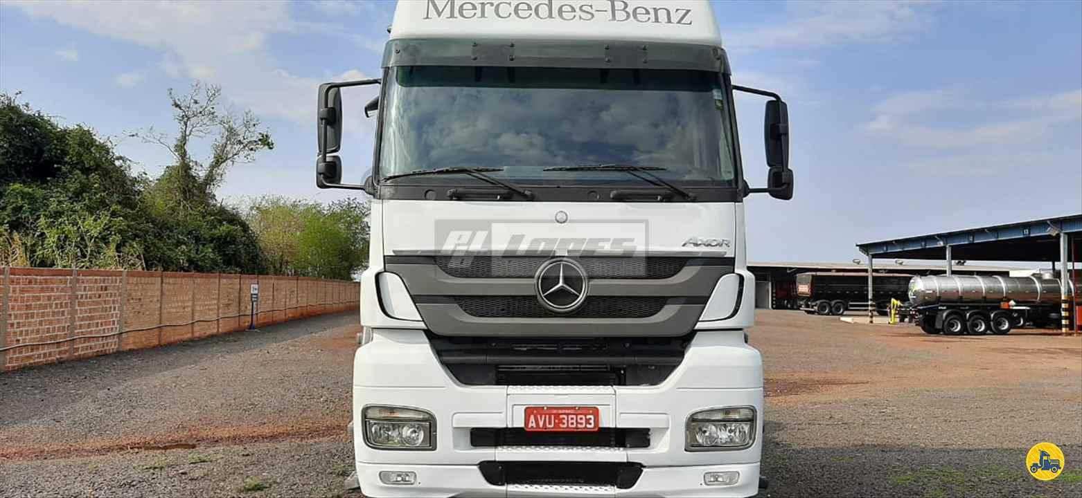 CAMINHAO MERCEDES-BENZ MB 2544 Cavalo Mecânico Truck 6x2 P.B. Lopes - Scania MARINGA PARANÁ PR