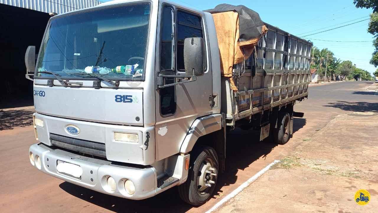 CAMINHAO FORD CARGO 815 Graneleiro Toco 4x2 André Caminhões RIO VERDE GOIAS GO