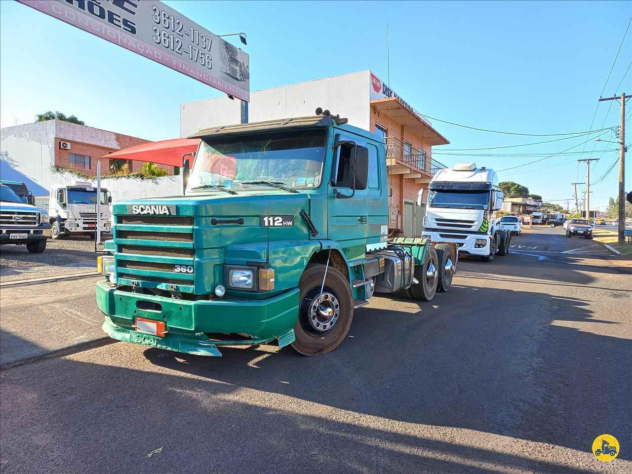 CAMINHAO SCANIA SCANIA 112 360 Cavalo Mecânico Truck 6x2 André Caminhões RIO VERDE GOIAS GO