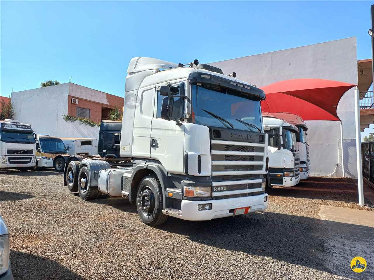 CAMINHAO SCANIA SCANIA 124 420 Cavalo Mecânico Truck 6x2 André Caminhões RIO VERDE GOIAS GO