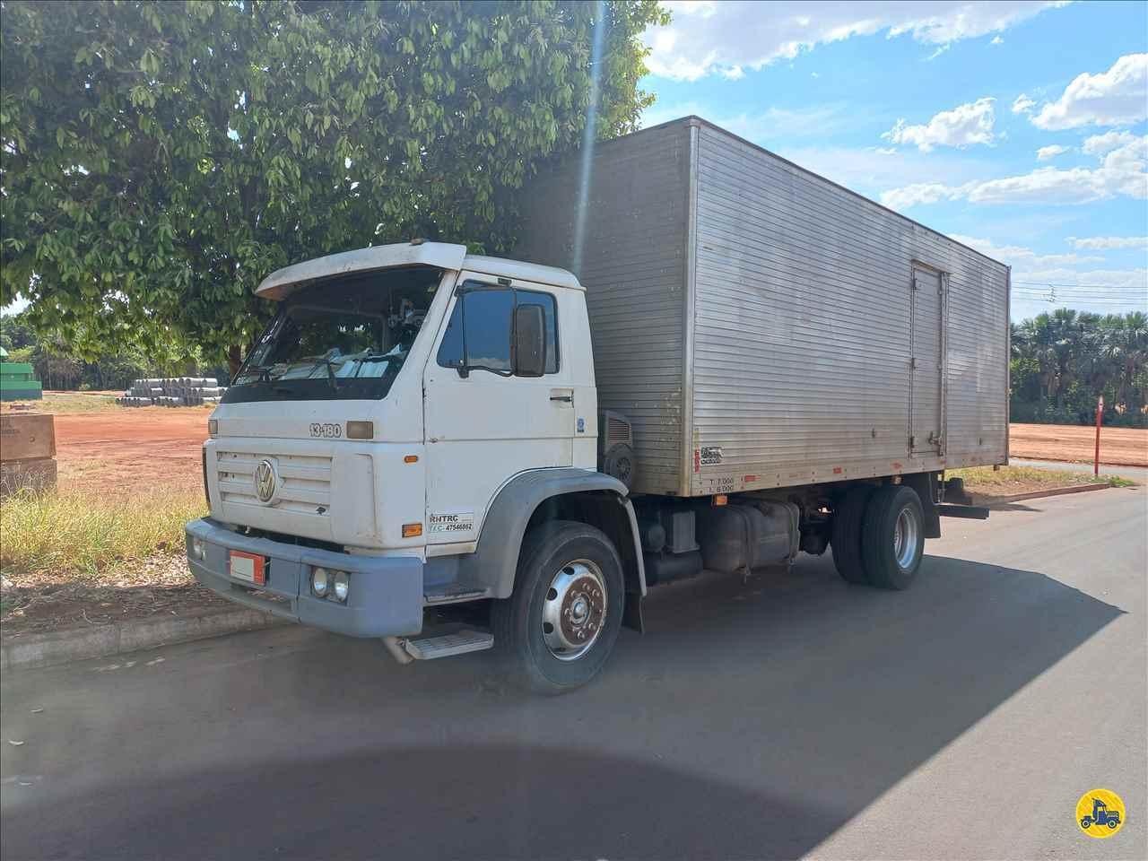 CAMINHAO VOLKSWAGEN VW 13180 Baú Furgão Toco 4x2 André Caminhões RIO VERDE GOIAS GO