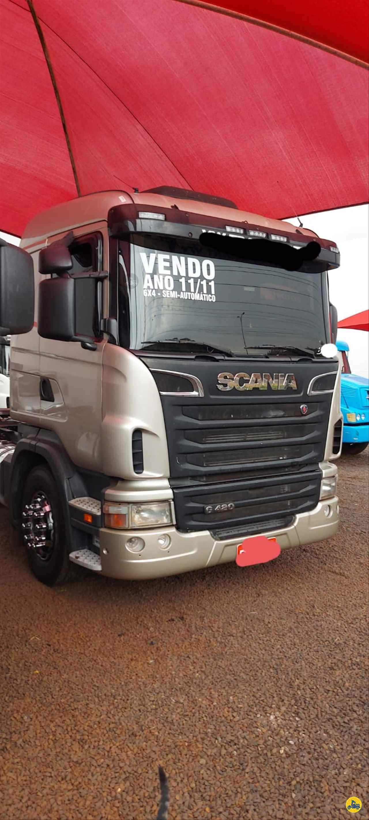 CAMINHAO SCANIA SCANIA 420 Cavalo Mecânico Traçado 6x4 André Caminhões RIO VERDE GOIAS GO