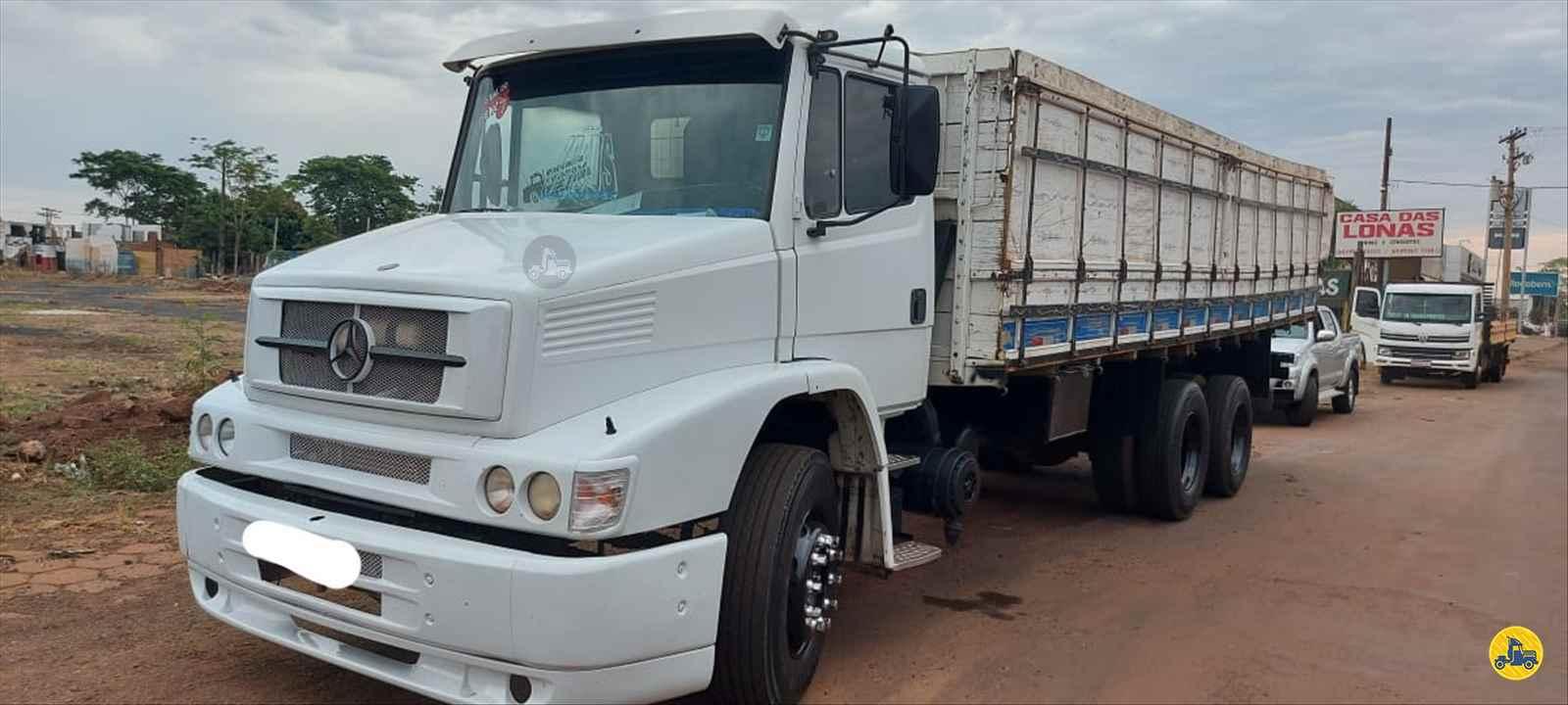CAMINHAO MERCEDES-BENZ MB 1620 Graneleiro Truck 6x2 André Caminhões RIO VERDE GOIAS GO