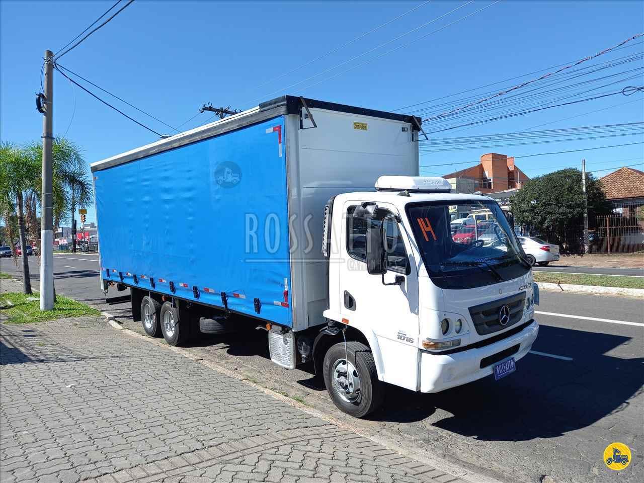 MERCEDES-BENZ MB 1016 174000km 2014/2014 Rossatto Caminhões