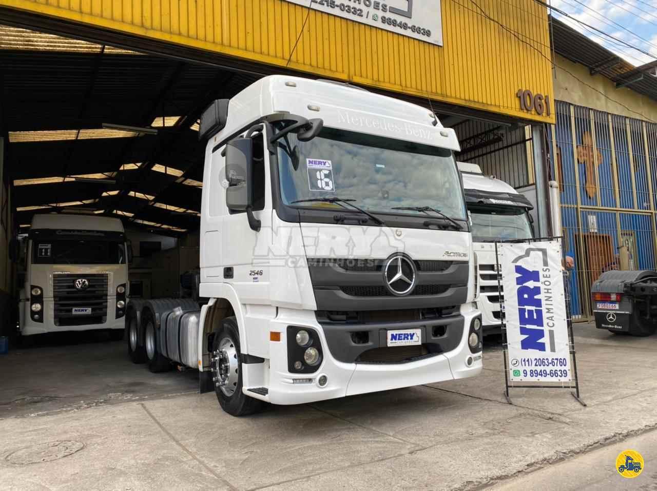 CAMINHAO MERCEDES-BENZ MB 2546 Cavalo Mecânico Truck 6x2 Nery Caminhões N.C.V. SAO PAULO SÃO PAULO SP