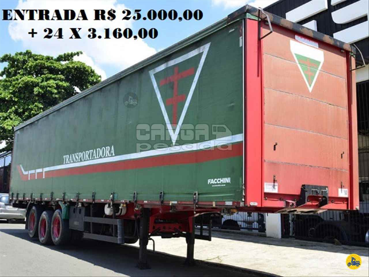 CARRETA SEMI-REBOQUE BAU SIDER Reta Carga Pesada Caminhões SAO PAULO SÃO PAULO SP