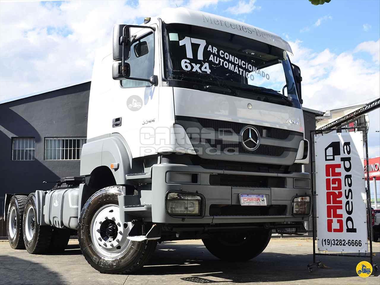 CAMINHAO MERCEDES-BENZ MB 3344 Cavalo Mecânico Traçado 6x4 Carga Pesada Caminhões SAO PAULO SÃO PAULO SP