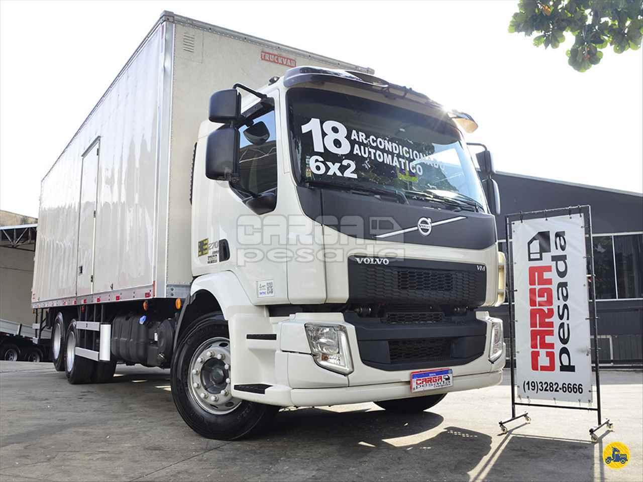 CAMINHAO VOLVO VOLVO VM 270 Baú Furgão Truck 6x2 Carga Pesada Caminhões SAO PAULO SÃO PAULO SP