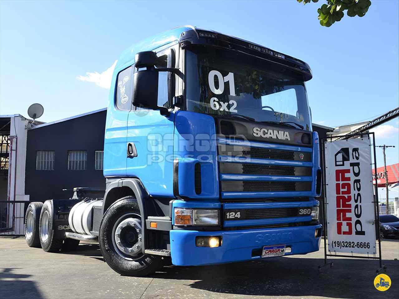 CAMINHAO SCANIA SCANIA 124 360 Cavalo Mecânico Truck 6x2 Carga Pesada Caminhões SAO PAULO SÃO PAULO SP