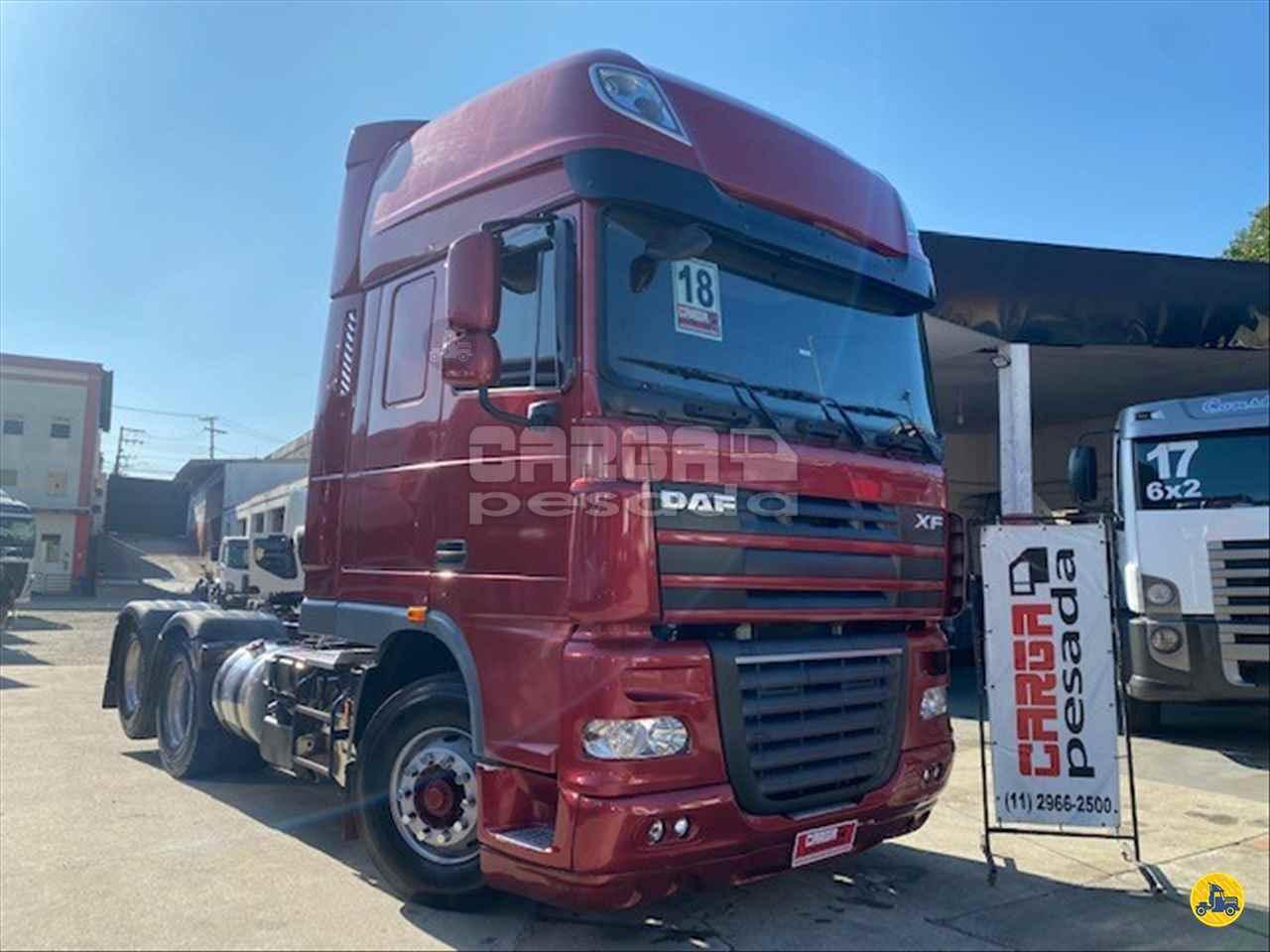 CAMINHAO DAF DAF XF105 460 Cavalo Mecânico Truck 6x2 Carga Pesada Caminhões SAO PAULO SÃO PAULO SP