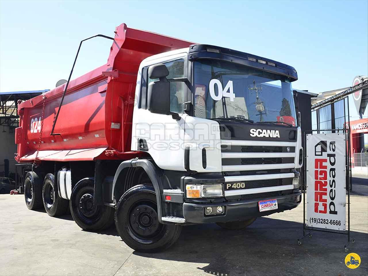CAMINHAO SCANIA SCANIA 124 400 Caçamba Basculante BiTruck 8x4 Carga Pesada Caminhões SAO PAULO SÃO PAULO SP