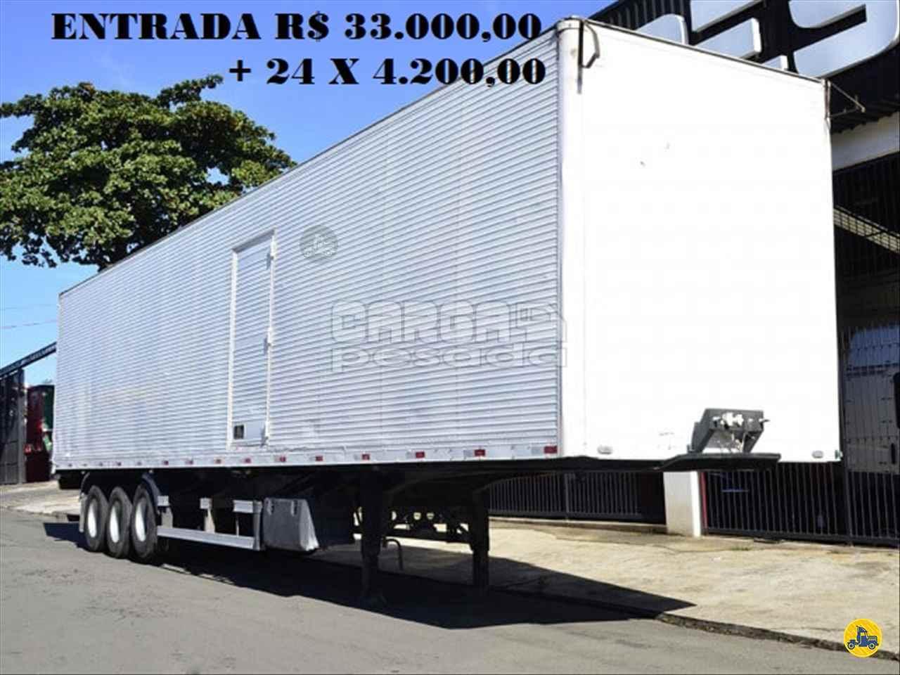 CARRETA SEMI-REBOQUE BAU FURGÃO Carga Pesada Caminhões SAO PAULO SÃO PAULO SP