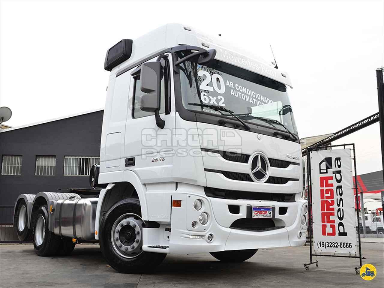 CAMINHAO MERCEDES-BENZ MB 2546 Cavalo Mecânico Truck 6x2 Carga Pesada Caminhões SAO PAULO SÃO PAULO SP