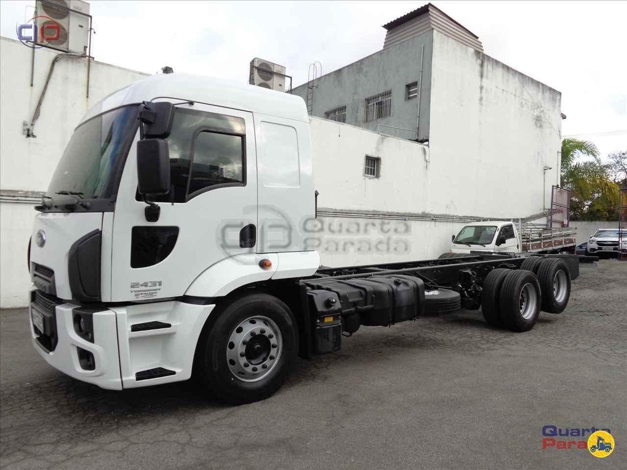 CAMINHAO FORD CARGO 2431 Chassis Truck 6x2 Quarta Parada Caminhões SAO PAULO SÃO PAULO SP