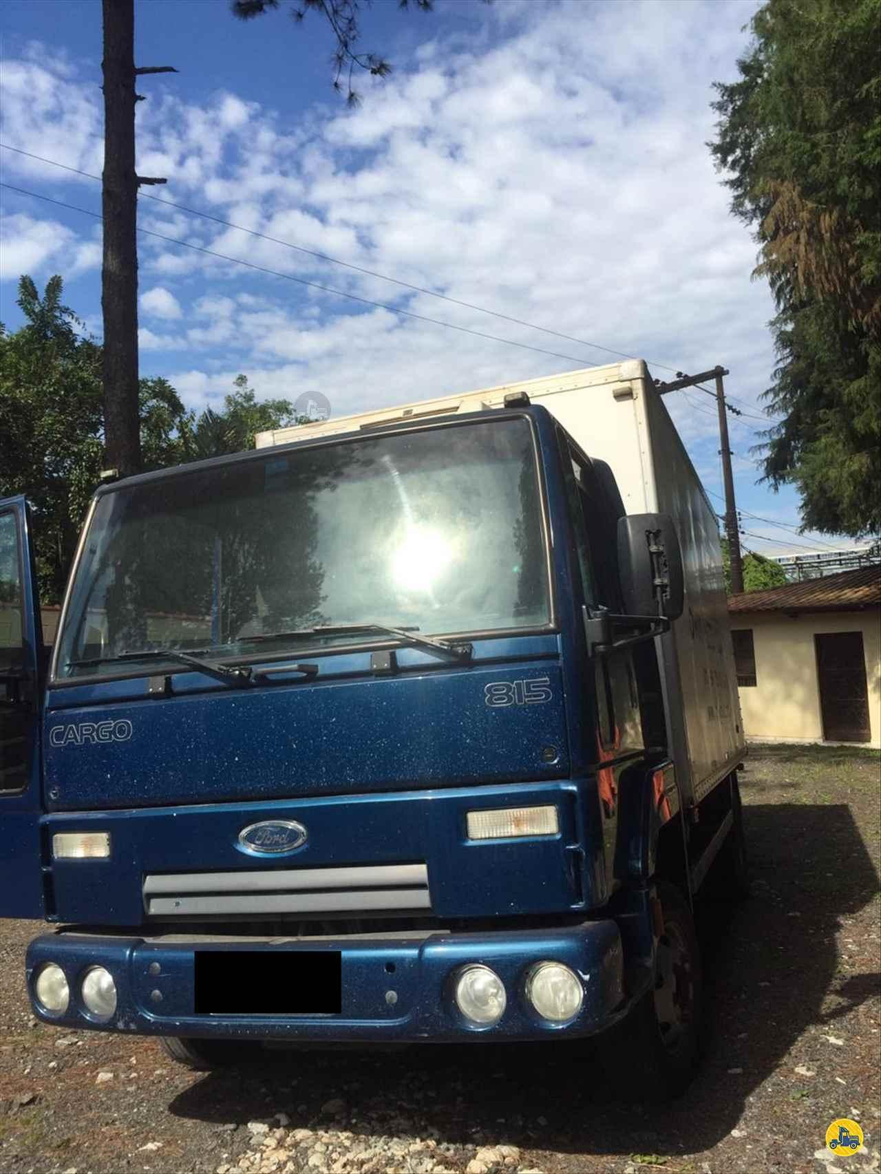 CAMINHAO FORD CARGO 815 Baú Frigorífico Toco 4x2 Wilson Caminhões RIBEIRAO PIRES SÃO PAULO SP