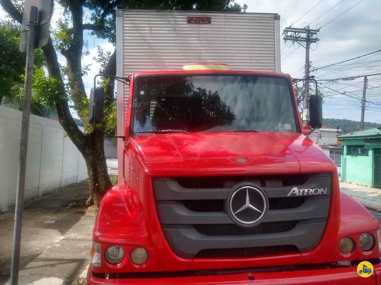 CAMINHAO MERCEDES-BENZ MB 2324 Baú Furgão Truck 6x2 Wilson Caminhões RIBEIRAO PIRES SÃO PAULO SP