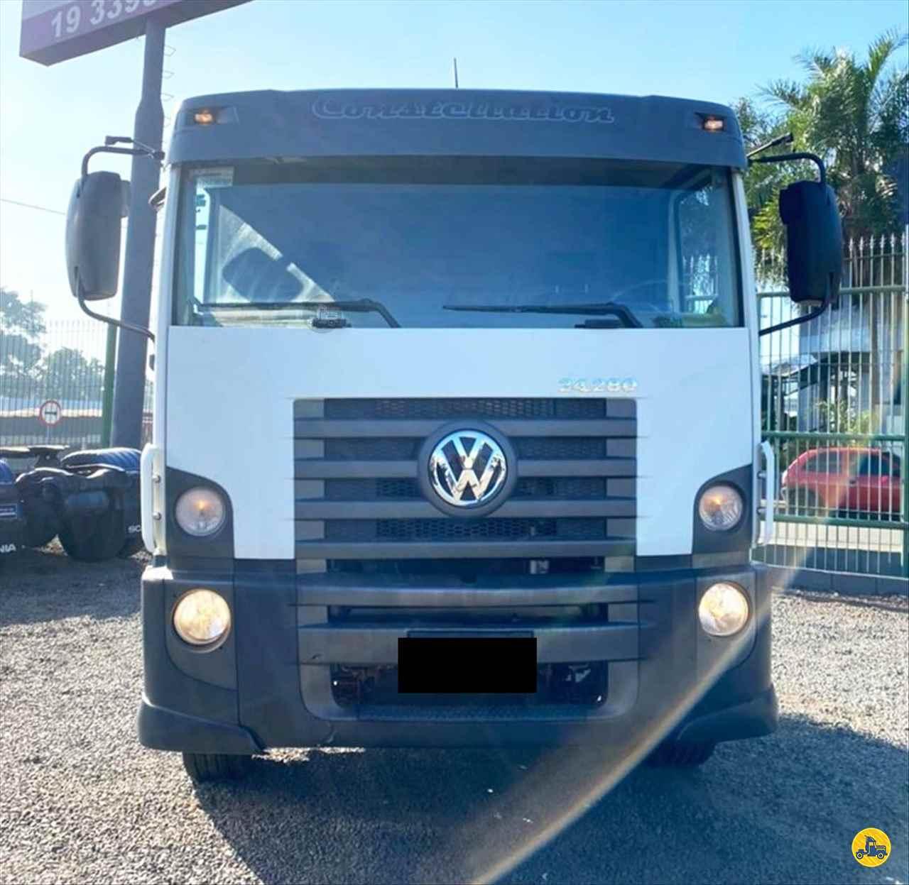 CAMINHAO VOLKSWAGEN VW 24280 Chassis Truck 6x2 Wilson Caminhões RIBEIRAO PIRES SÃO PAULO SP