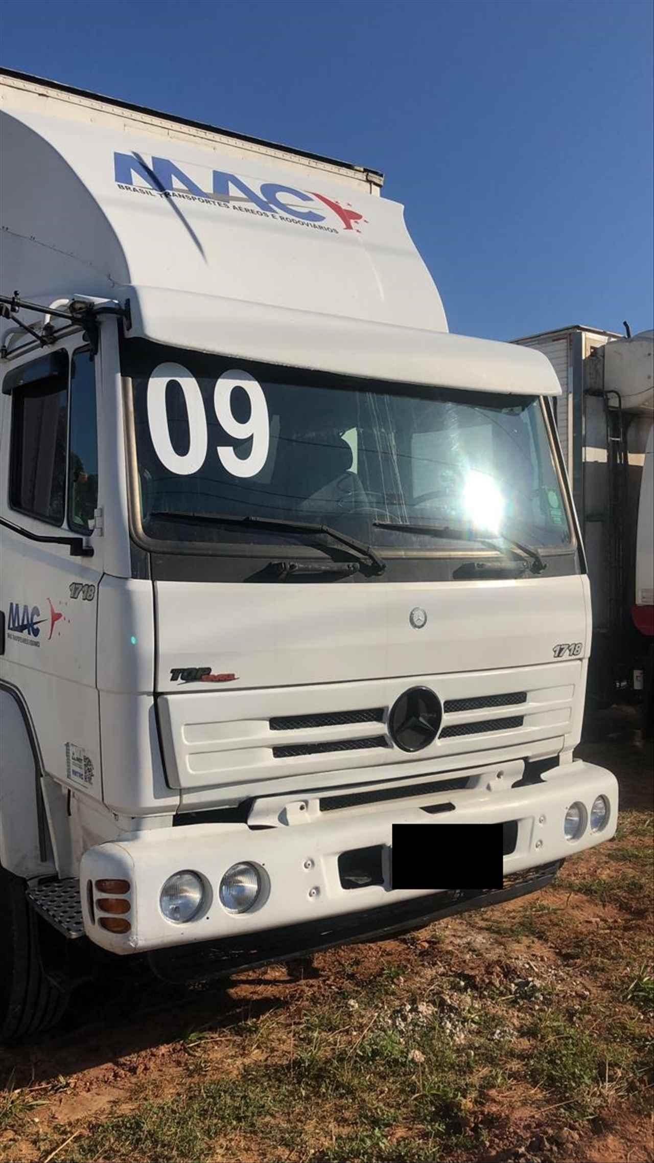 CAMINHAO MERCEDES-BENZ MB 1718 Chassis Truck 6x2 Wilson Caminhões RIBEIRAO PIRES SÃO PAULO SP