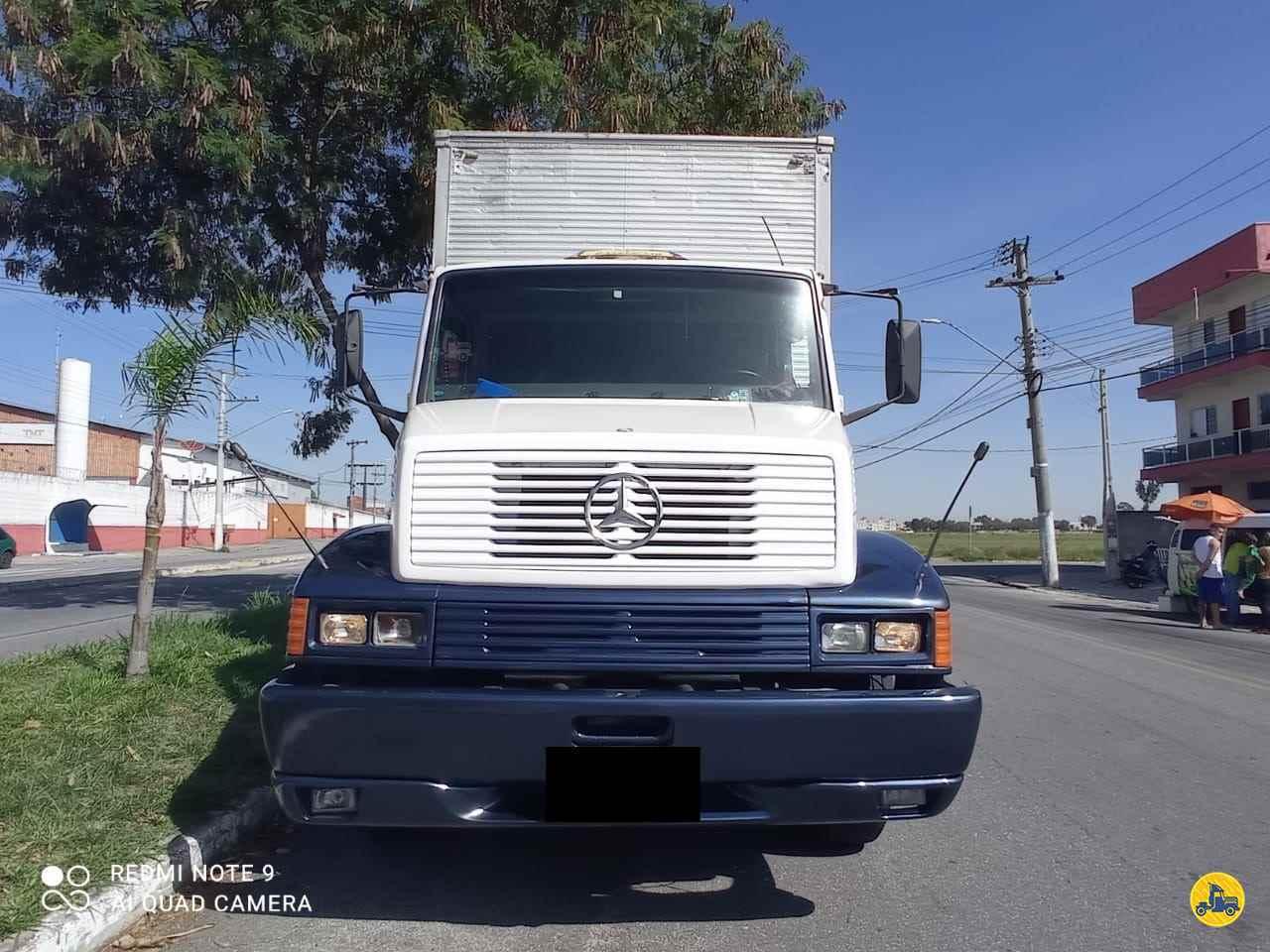 CAMINHAO MERCEDES-BENZ MB 1418 Baú Furgão Truck 6x2 Wilson Caminhões RIBEIRAO PIRES SÃO PAULO SP