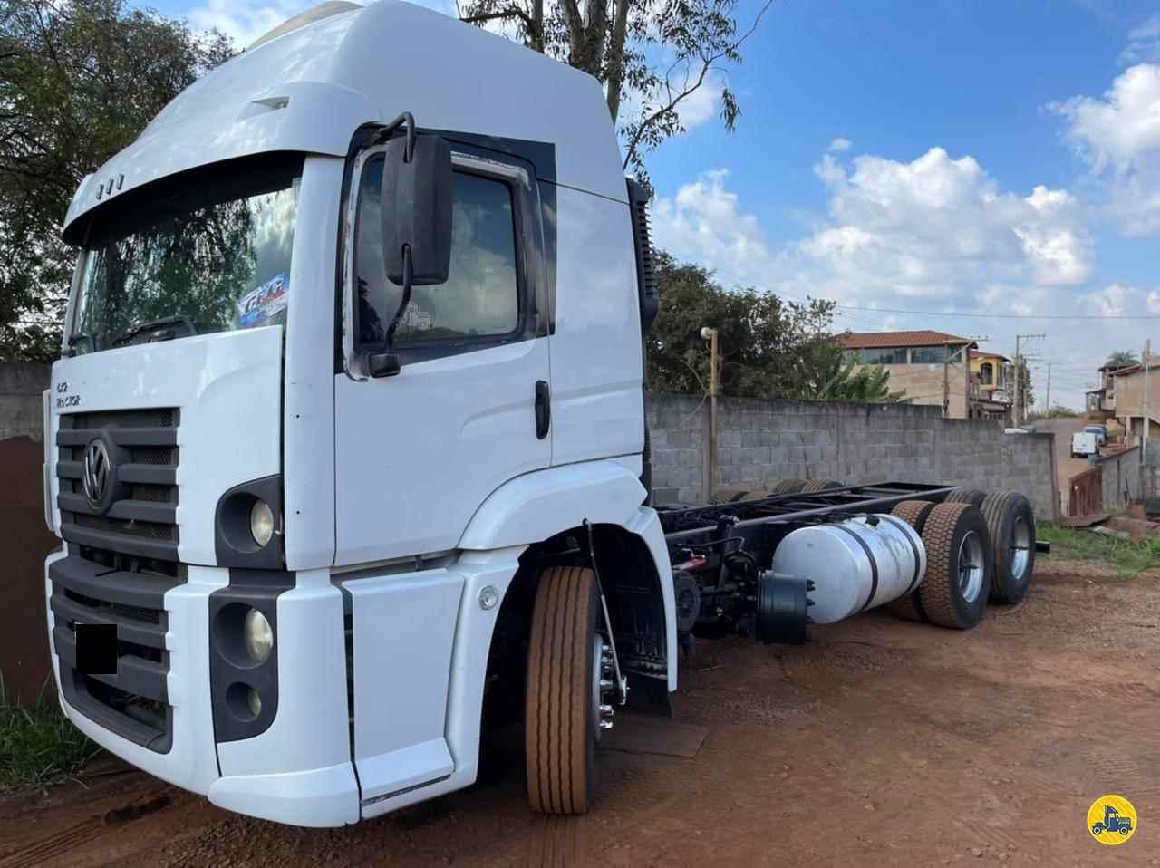 CAMINHAO VOLKSWAGEN VW 25370 Chassis Truck 6x2 Wilson Caminhões RIBEIRAO PIRES SÃO PAULO SP