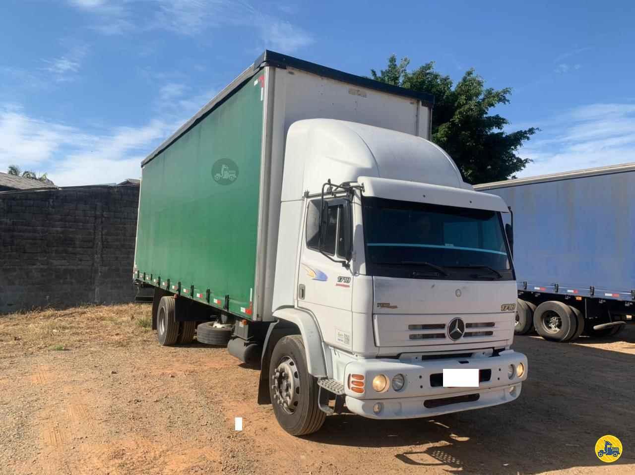 CAMINHAO MERCEDES-BENZ MB 1718 Baú Sider Toco 4x2 Wilson Caminhões RIBEIRAO PIRES SÃO PAULO SP