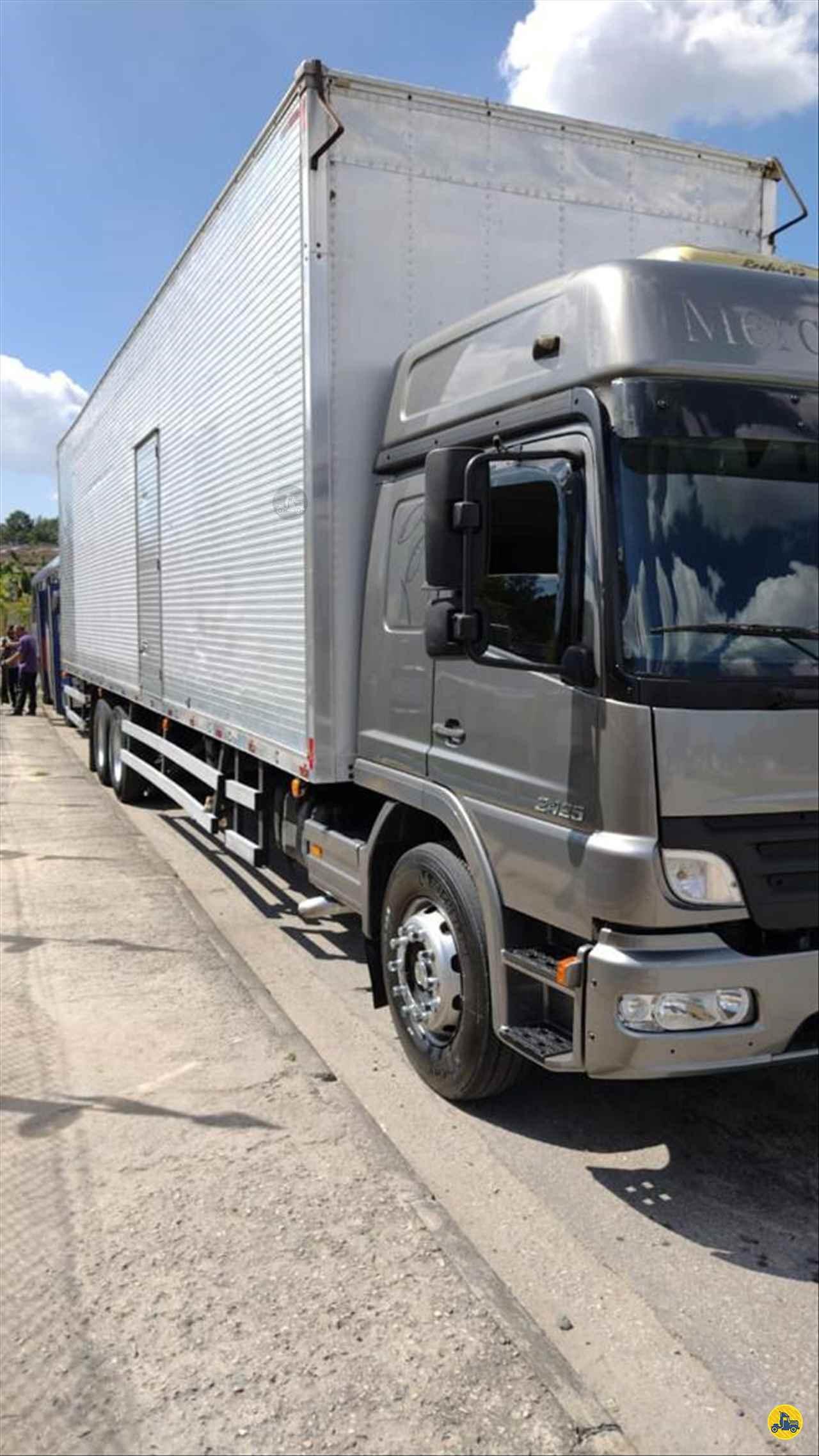CAMINHAO MERCEDES-BENZ MB 2425 Baú Furgão Truck 6x2 Wilson Caminhões RIBEIRAO PIRES SÃO PAULO SP