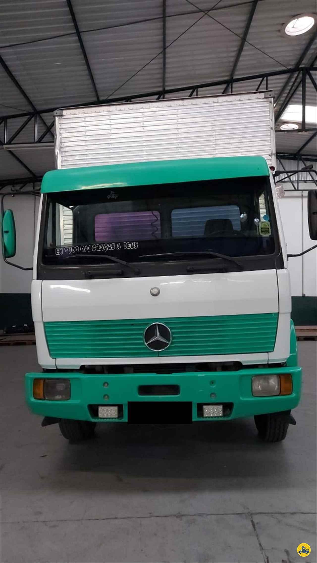 CAMINHAO MERCEDES-BENZ MB 1214 Baú Furgão 3/4 4x2 Wilson Caminhões RIBEIRAO PIRES SÃO PAULO SP