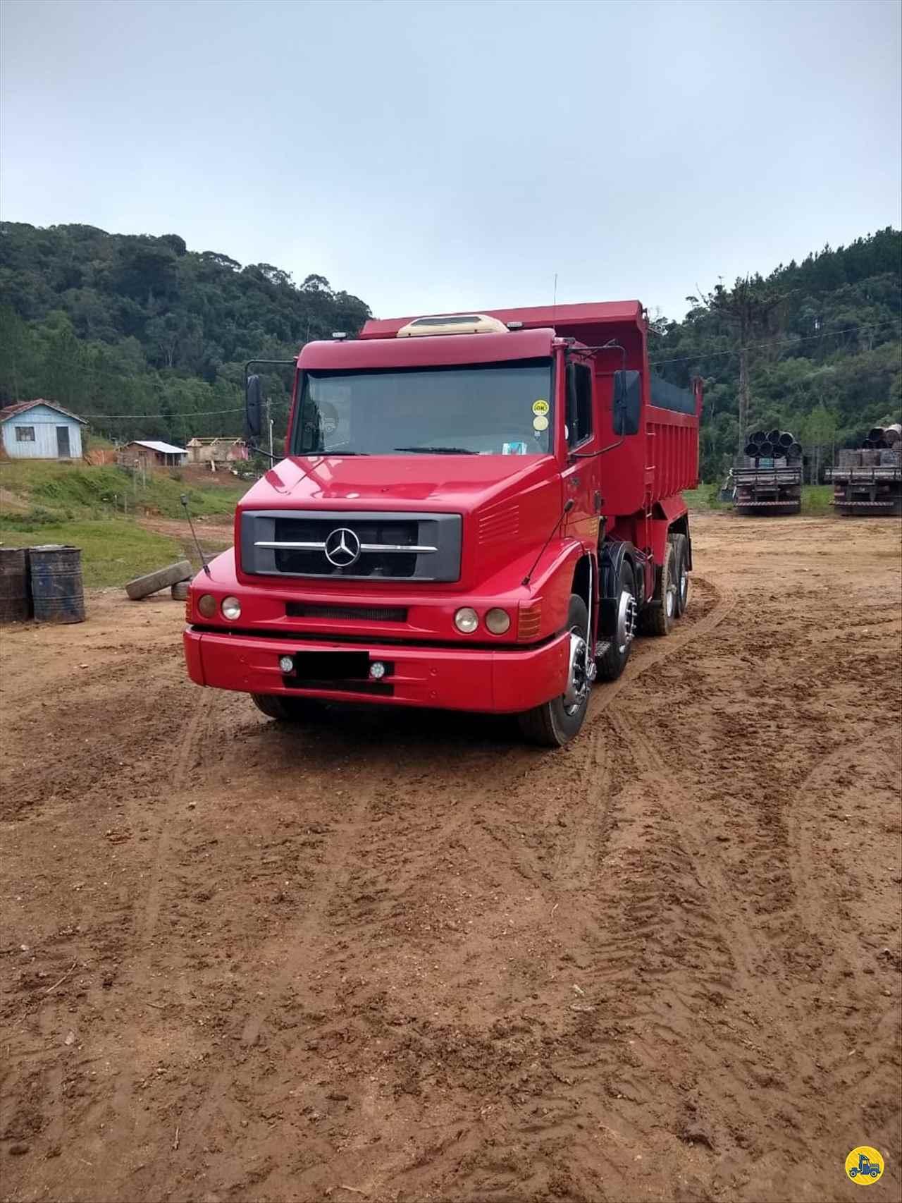 CAMINHAO MERCEDES-BENZ MB 1620 Caçamba Basculante BiTruck 8x2 Wilson Caminhões RIBEIRAO PIRES SÃO PAULO SP