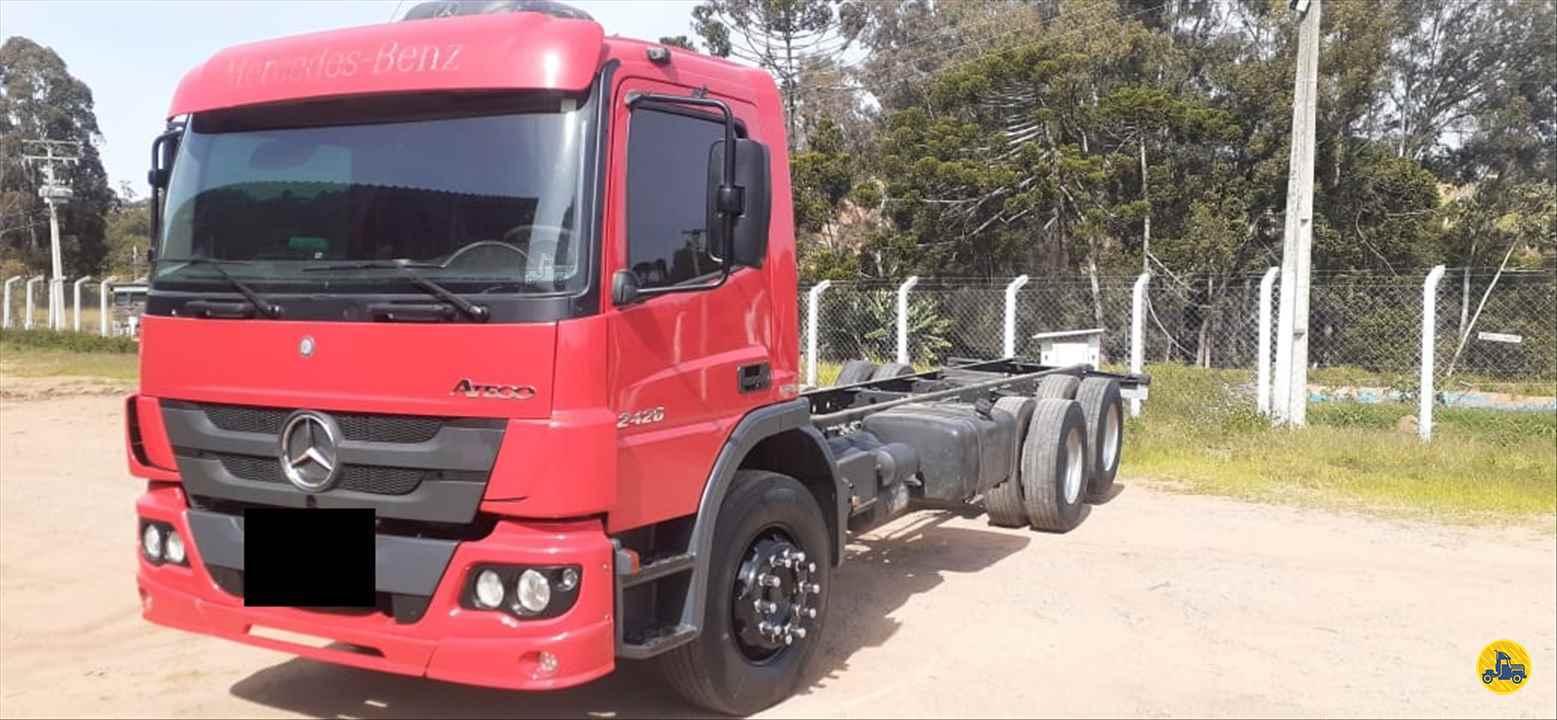 CAMINHAO MERCEDES-BENZ MB 2426 Chassis Truck 6x2 Wilson Caminhões RIBEIRAO PIRES SÃO PAULO SP