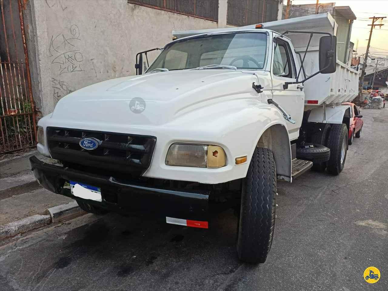 CAMINHAO FORD F12000 Caçamba Basculante Toco 4x2 Wilson Caminhões RIBEIRAO PIRES SÃO PAULO SP