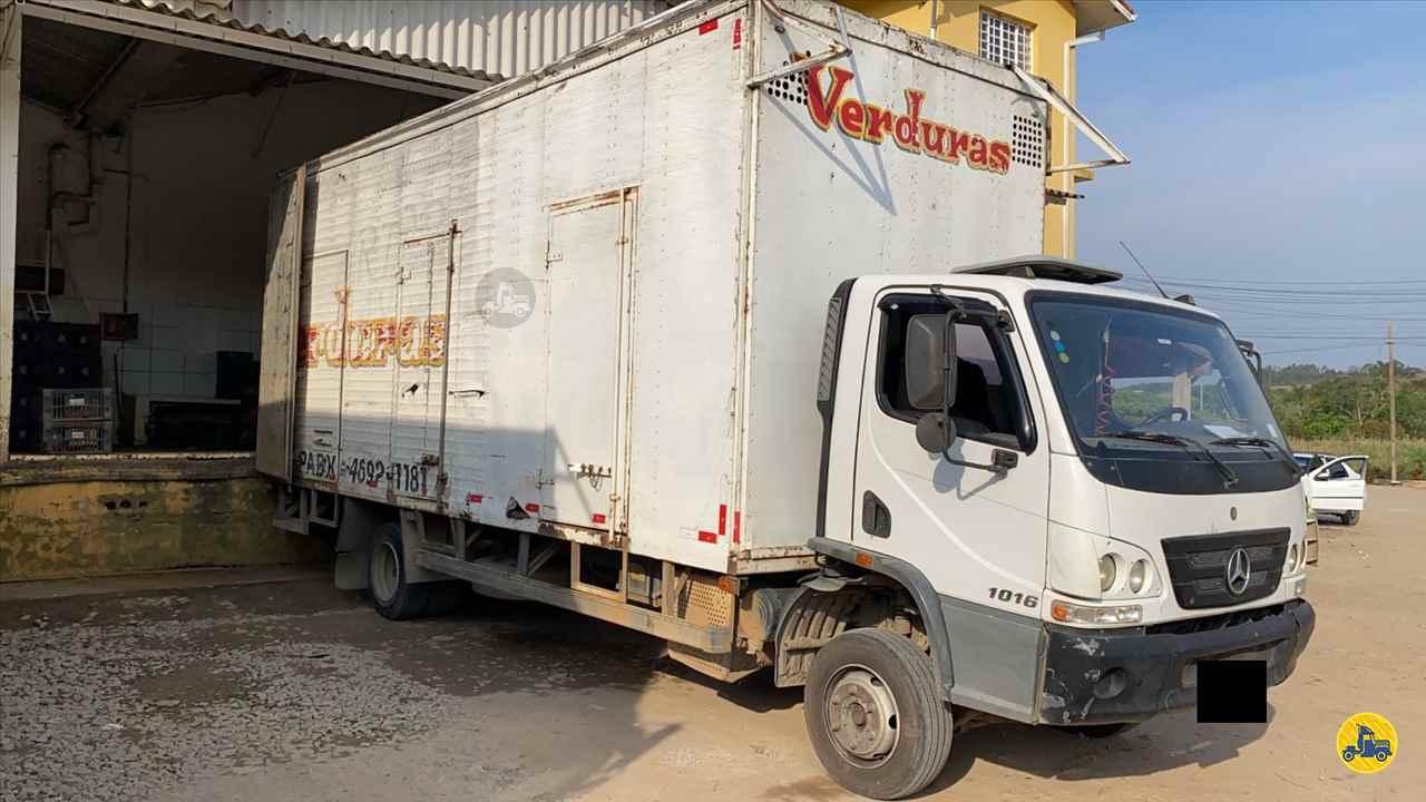 CAMINHAO MERCEDES-BENZ MB 1016 Baú Furgão Toco 4x2 Wilson Caminhões RIBEIRAO PIRES SÃO PAULO SP